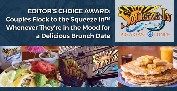 Editor's Choice Award: Couples Flock to the Squeeze In™ Whenever They're in the Mood for a Delicious Brunch Date