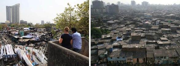 Photos of the Dharavi slum in Mumbai