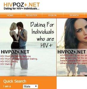 Screenshot of HIVPoz.net