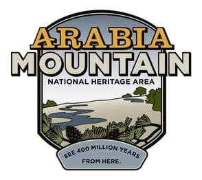 The Arabia Mountain National Heritage Area logo