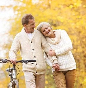 Photo of a senior couple