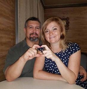 Photo of Svetlana and James