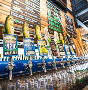 Photo of SweetWater's taps