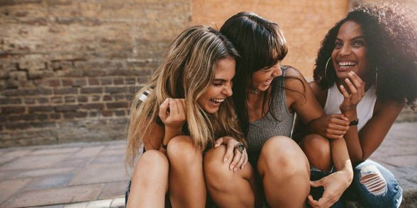 Photo of girl friends