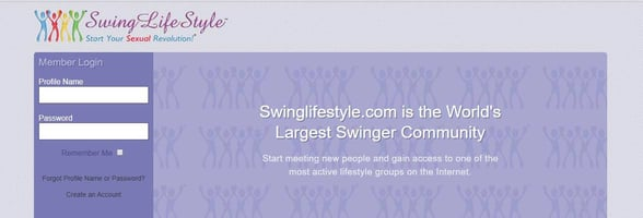 Screenshot of Swing LifeStyle