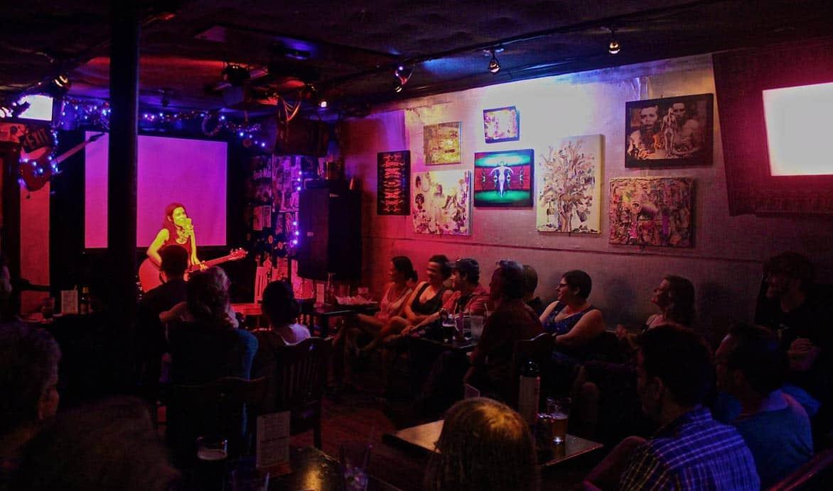 Photo of musical act playing at Freddy's Bar & Backroom