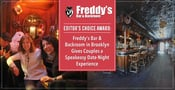 Editor's Choice Award: Freddy's Bar & Backroom in Brooklyn Gives Couples a Speakeasy Date-Night Experience