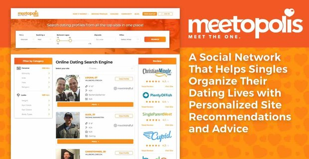 Meetopolis Helps Singles Organize Dating Lives