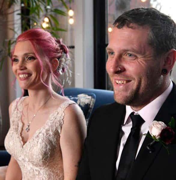 Photo of Amanda and Sean on their wedding day