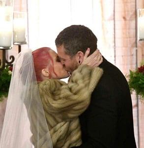 Photo of Sean and Amanda on their wedding day