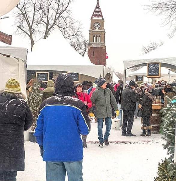 Photo of the Icewine Festival
