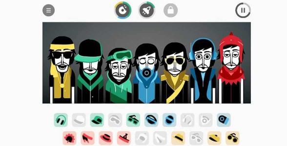 Screenshot of Incredibox
