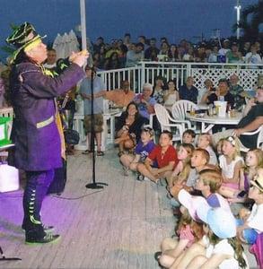 Photo of magician Michael Trixx