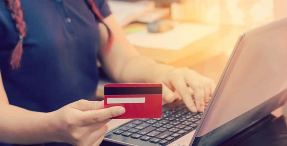 Photo of an online payment