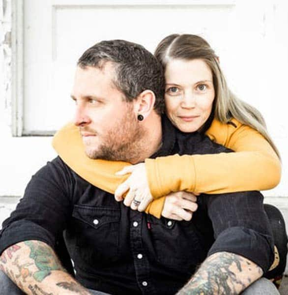 Photo of Amanda DiMarzio and Sean Woodard