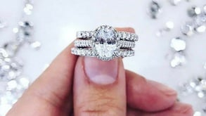 Photo of ring from Mervis Diamond Importers