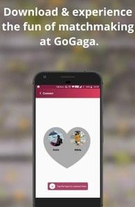 Screenshot of GoGaga