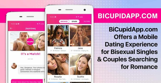 Bicupidapp Offers Mobile Dating For Bisexuals
