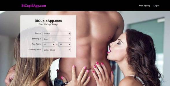 Screenshot of BiCupidApp.com