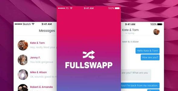 Screenshots of FULLSWAPP