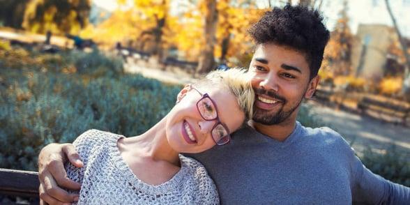 Photo of interracial couple