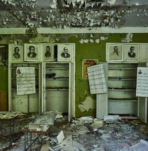 Photo of ruins in Chernobyl