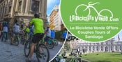 La Bicicleta Verde Invites Couples to See Chile From a Different Perspective by Taking a Bike Tour in Santiago