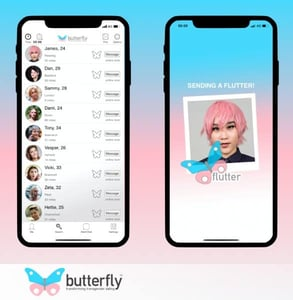Screenshots of Butterfly