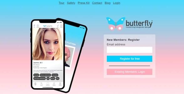 Screenshot of Butterfly