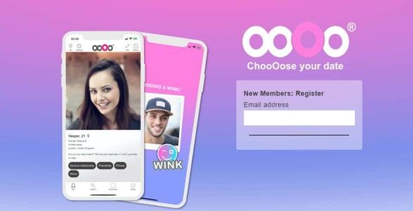 Screenshot of the ooOo website