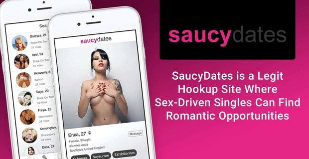 Saucy Dates Is A Legit Hookup Site