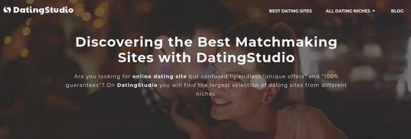 Screenshot of DatingStudio