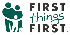 The First Things First logo