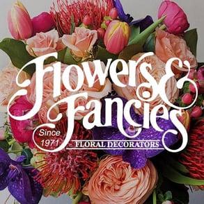 The Flowers & Fancies logo