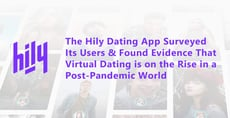 The Hily Dating App Surveys Its Users & Finds Evidence That Virtual Dating is on the Rise in a Post-Pandemic World