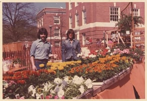 Photo of early Flowers & Fancies stand
