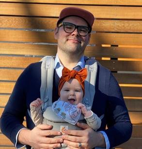 Photo of Crema Creative Director Austin Romansky