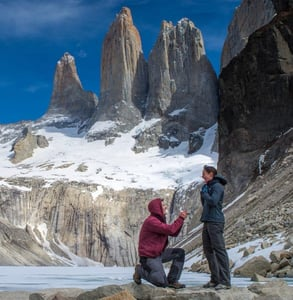 Photo of a proposal