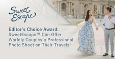 Editor's Choice Award: SweetEscape™ Can Offer Worldly Couples a Professional Photo Shoot on Their Travels