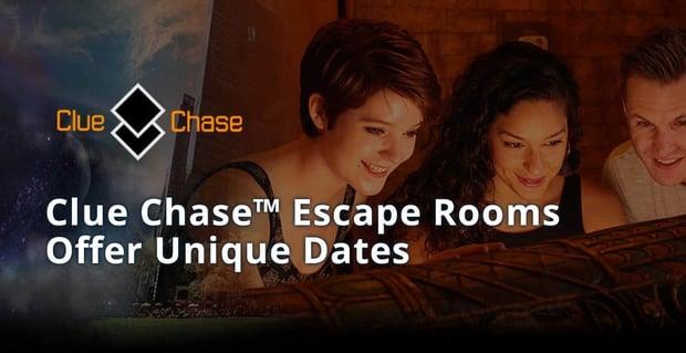 Clue Chase Escape Rooms Offer Unique Dates