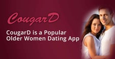 Editor's Choice Award: CougarD is an Older Women Dating App With a Fast-Growing Membership Base