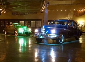 Photo of Packard cars in America's Packard Museum