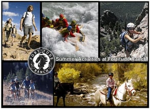 screenshot of Fortitude Ranch summer activities