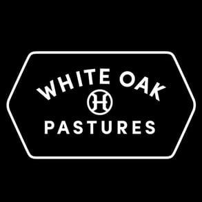 The White Oak Pastures logo