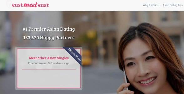 Screenshot of EastMeetEast