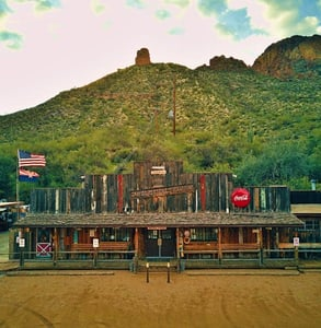 Photo of the Superstition Saloon
