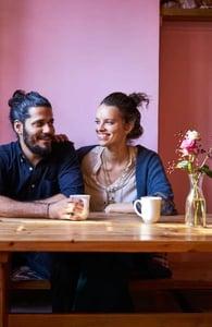 Photo of Joel and Aiste Gazdar