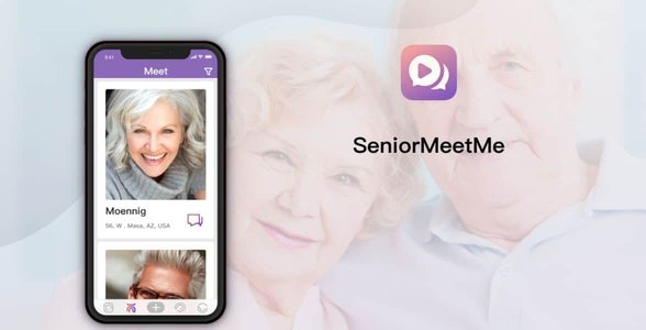 Screenshot of SeniorMeetMe