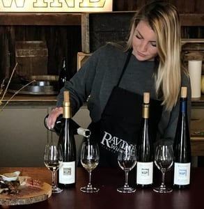 Photo of a wine tasting