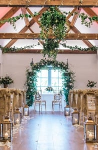 Photo of a wedding at Cotswold House